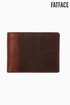 FatFace Brown Colourblock Wallet