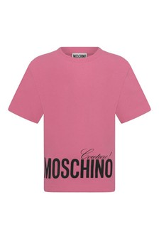 Kids Fuchsia Cotton Jersey T-Shirt
