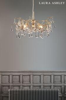 Laura Ashley Willow 3 Light Pendant Ceiling Light