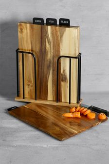 Set of 4 Bronx Chopping Boards