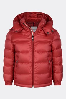 Red Down Padded New Gastonet Jacket