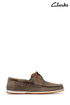 Clarks Sage Suede Pickwell Sail Shoes