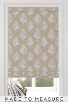 Stellard Oyster Natural Made To Measure Roman Blind