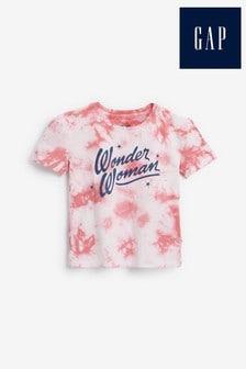 Gap Pink Wonder Woman Graphic T-Shirt