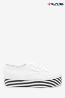 Superga® 2790 Stripe Sole Flatform Trainers