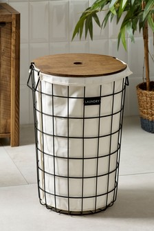 Bronx Wire Laundry Hamper