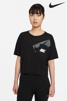 Nike DriFIT Graphic Training Crop T-Shirt