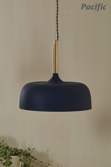 Anke Matt Domed Metal Pendant by Pacific Lifestyle
