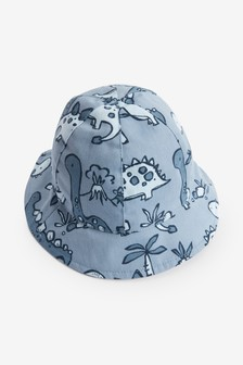 Blue Reversible Hat (0mths-2yrs)