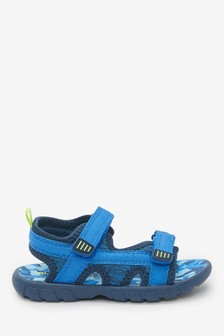 Blue Lightweight Camouflage Trekkers (Younger)