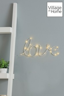 Village At Home Love Wall Light