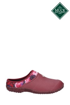 Muck Boots Red Muckster II Slip-On Clog Boots
