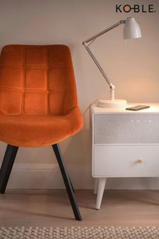 White Koble Ralph Smart Storage Side Table