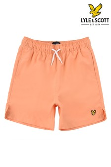 Lyle & Scott Orange Classic Swim Shorts