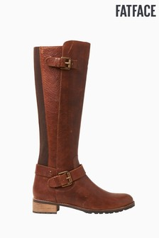 FatFace Brown Radnor Riding Boots