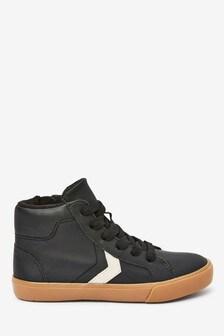 Black Skate Lace-Up Boots (Older)
