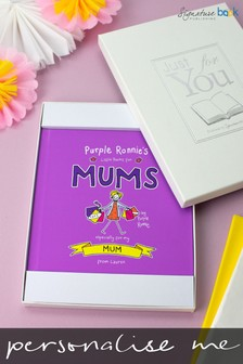 Personalised Purple Ronnie's Little Poems For Mum Book by Signature Book Publishing