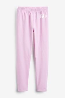 Gap Pink Logo Leggings