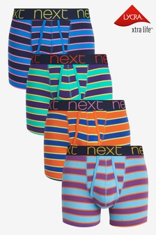 Bright Stripe A-Fronts Four Pack