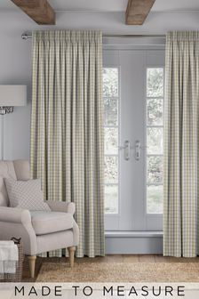 Malvern Zest Yellow Made To Measure Curtains