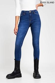 River Island Denim Molly Brazil Bum Lift Jeans