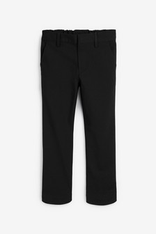 Black Plus Waist Formal Stretch Skinny Trousers (3-17yrs)