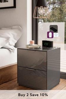 Grey Frank Olsen Smart Bedside Unit