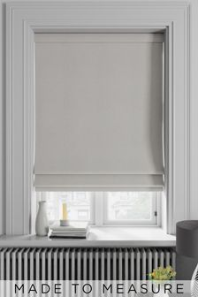 Soho Ecru Natural Made To Measure Roman Blind
