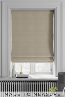 Soho Wheat Natural Made To Measure Roman Blind
