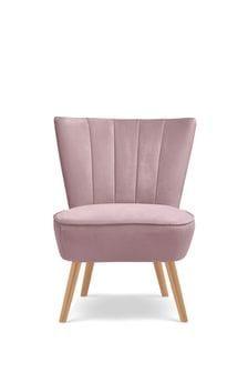 Opulent Velvet Heather Ella Fluted Chair