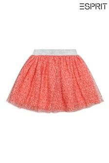 Esprit Pink Leopard Skirt