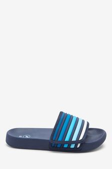 Blue Touch Fastening Stripe Sliders (Older)