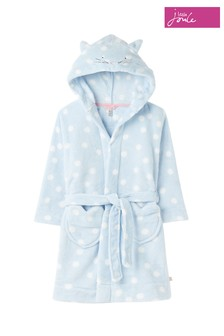 Joules Blue Aurora Character Dressing Gown