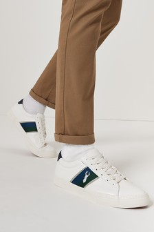 White Stripe Trainers