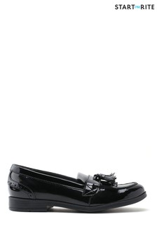 Start-Rite Black Sketch Standard Fit Patent School Shoes