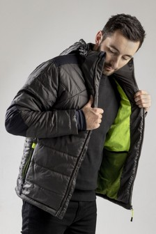 CAT® Grey Boreas Insulated Padded Jacket