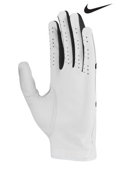 Nike Mens White LH Dura Feel Golf Gloves