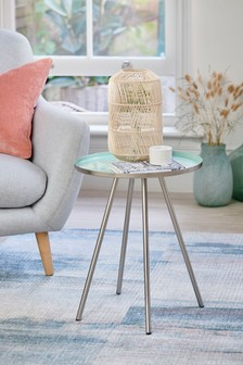 Teal Nina Side Table / Bedside