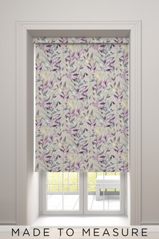 Asara Lilac Purple Made To Measure Roller Blind