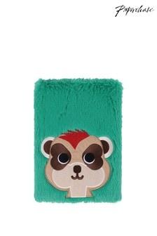 Paperchase A5 Faux Fur Meerkat Notebook