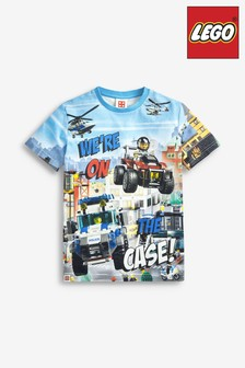 Blue Lego® City T-Shirt (4-13yrs)