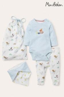 Boden Ivory Organic Farm Newborn Set