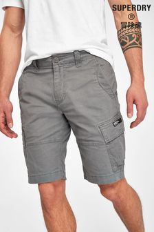 Superdry Grey Cargo Shorts