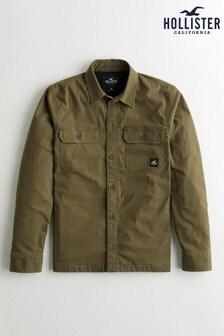 Hollister Olive Overshirt