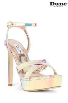 Dune London Masquerade Multi Crossover Strap Platform High Heels