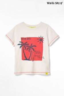 White Stuff White Kids Aloha Jersey T-Shirt