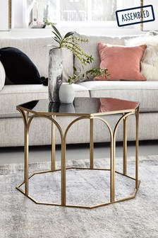 Gold Arch Coffee Table