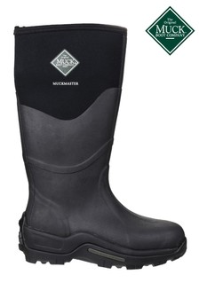 Muck Boots Black Muckmaster Hi Wellington Boots