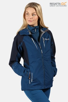 Regatta Blue Carletta V 3-In-1 Waterproof Jacket