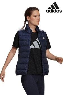 adidas Essential 3 Stripe Down Vest